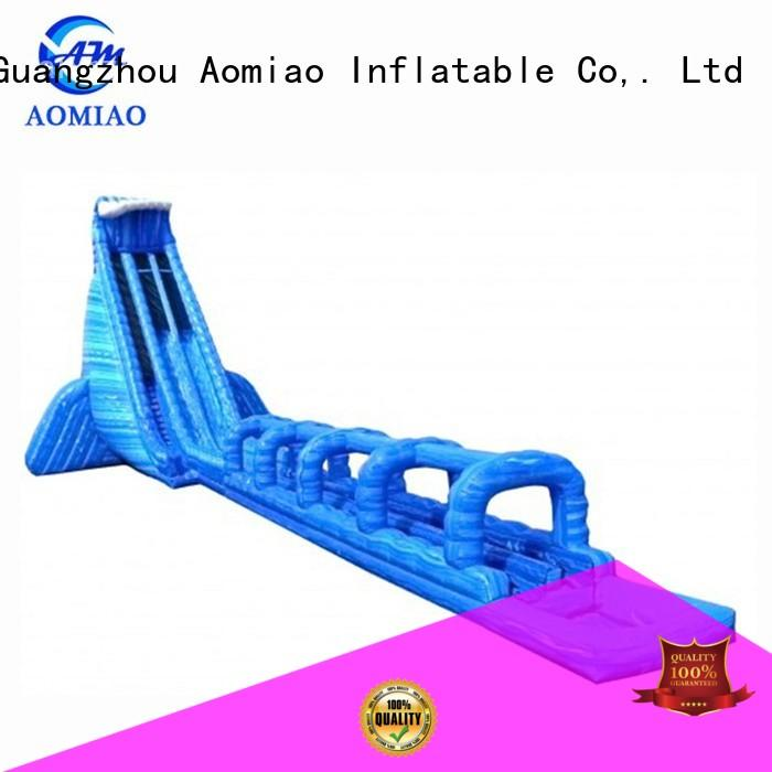 AOMIAO truck best inflatable pool slide factory for sale