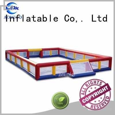 most popular inflatable football pitch ff1710 supplier for sale