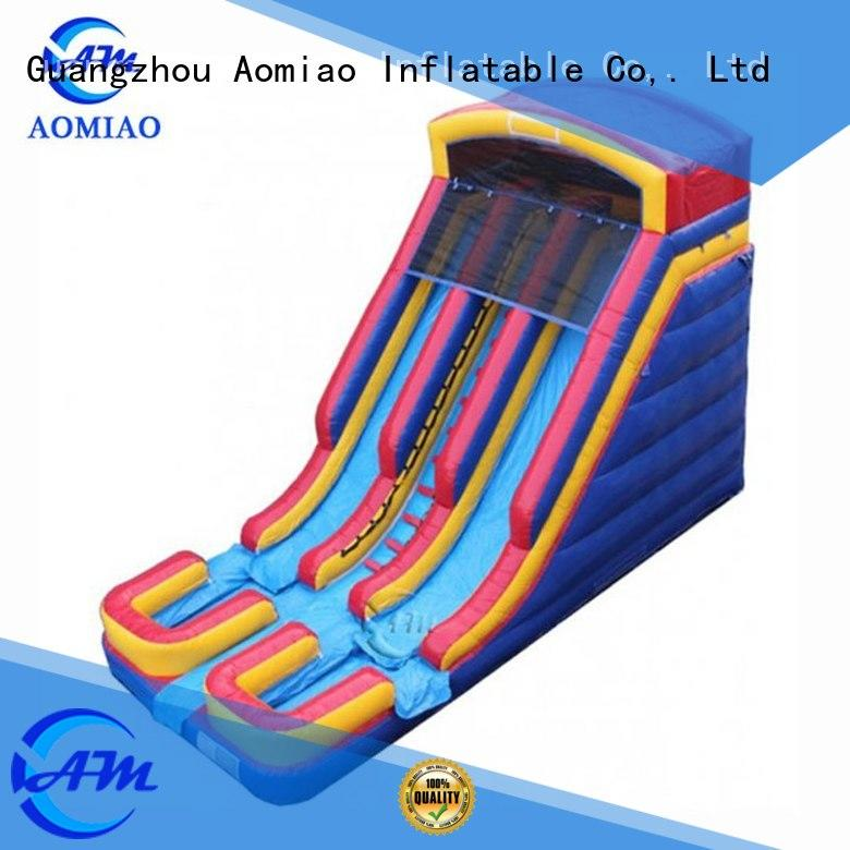 Hot commercial water slides for sale theme AOMIAO Brand