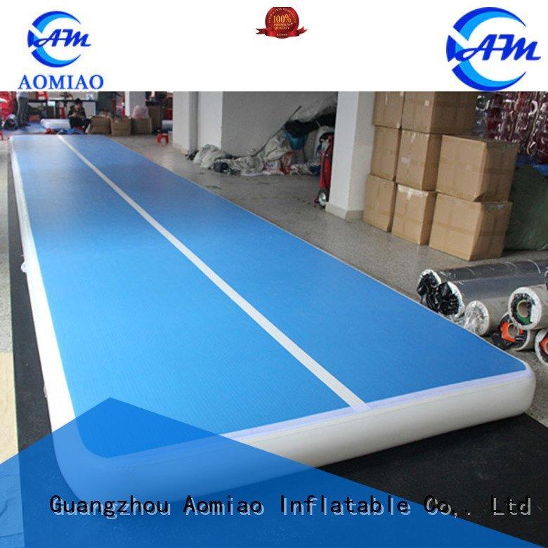 Quality air tumble track AOMIAO Brand air gymnastics mats