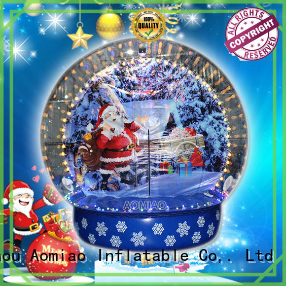 AOMIAO sgg1803 Inflatable snow globe wholesale for Christmas