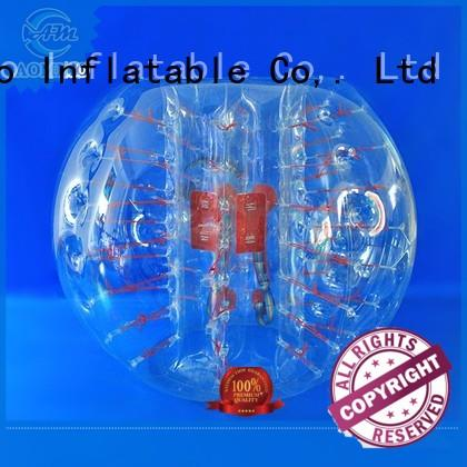 holes color inflatable bubble ball soccer AOMIAO Brand