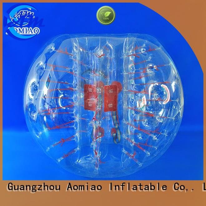 Wholesale inflatable bubble ball soccer holes AOMIAO Brand