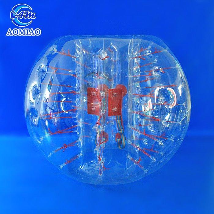 TPU Bubble Ball Soccer - Clear BS1C