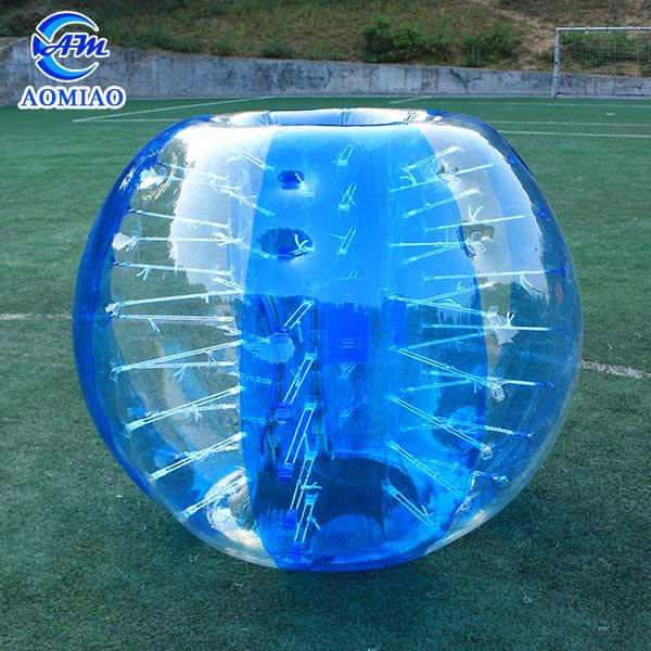 TPU Inflatable Bumper Ball - Striped Color BS3S