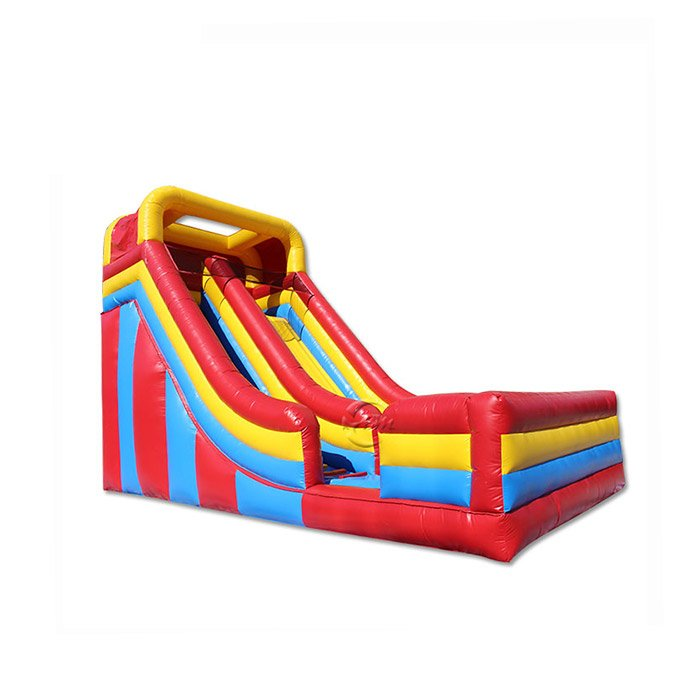 large inflatable pool slide