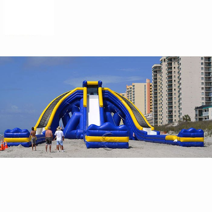 inflatable above ground pool slide
