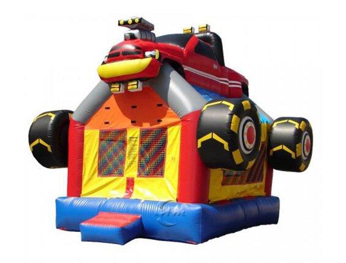 Monster truck bounce house for sale