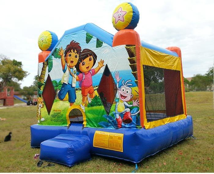 Home Bounce House - Dora