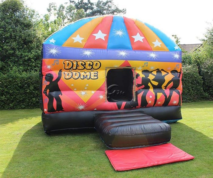 inflatable disco dome bouncy house
