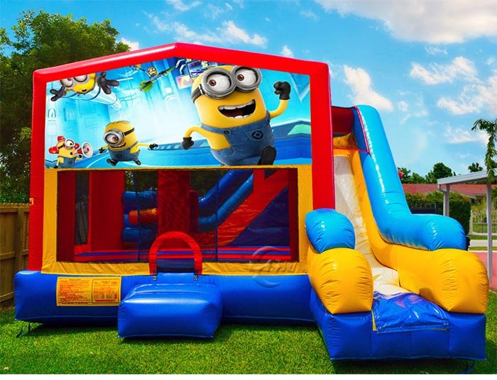 bounce house cost