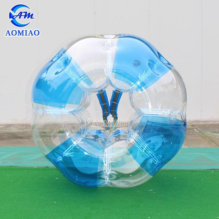 PVC Inflatable Bubble Ball - Striped Color BSP3S