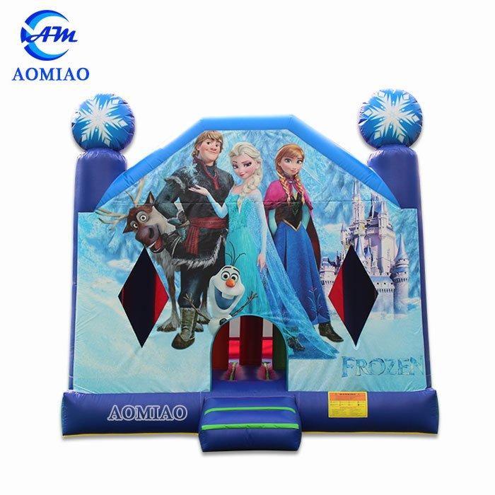 Frozen Bouncy Castle - BO1775