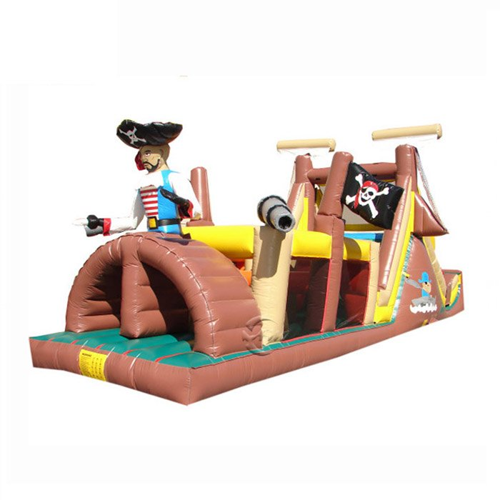 obstacle course moon bounce