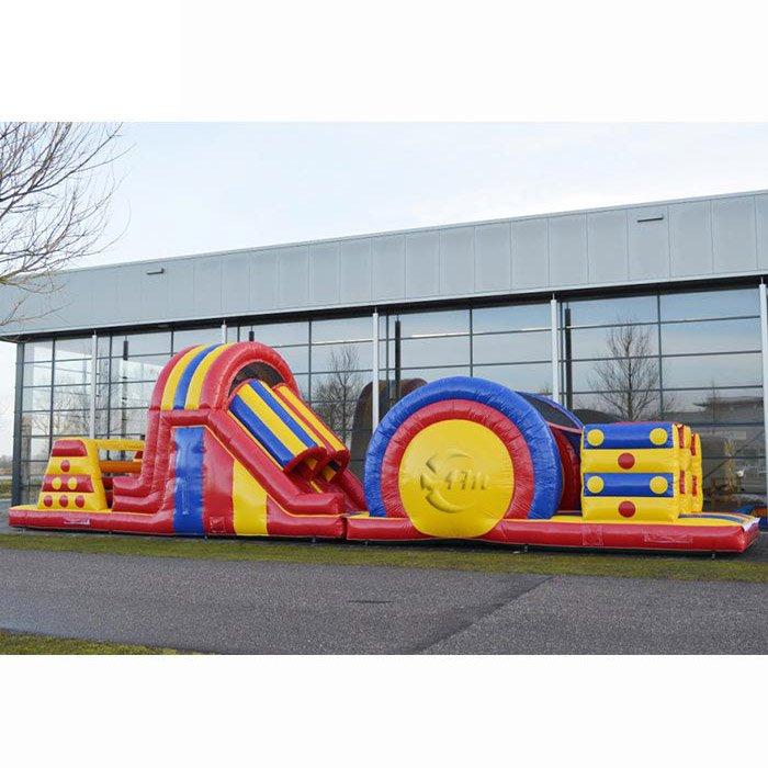 bouncy assault course