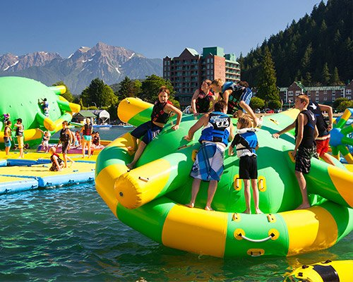 water inflatables for sale