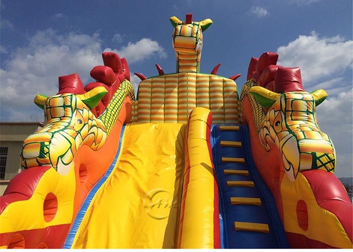 backyard water slide inflatable