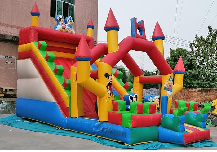 big inflatable water slides for sale