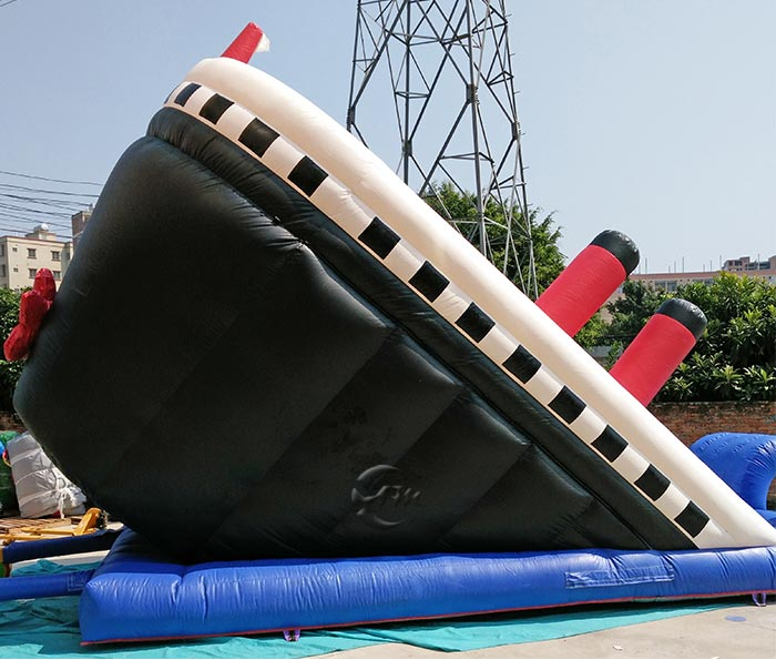blow up water slide for adults