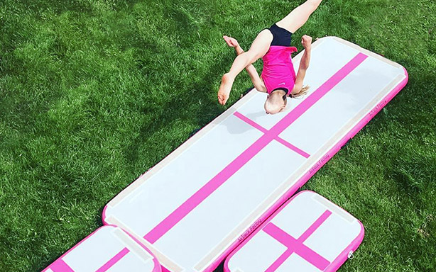 cheap inflatable tumble track