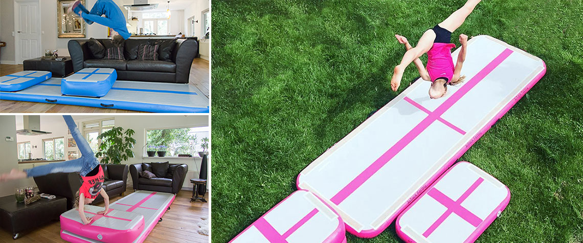 gymnastics equipment for kids at home