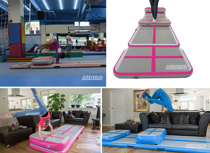 inflatable gymnastics mat