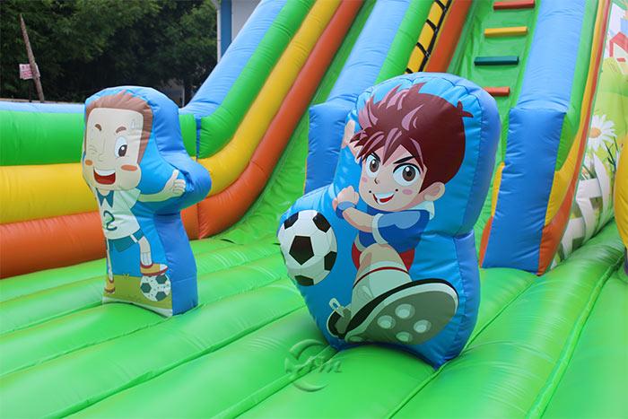 best inflatable slide