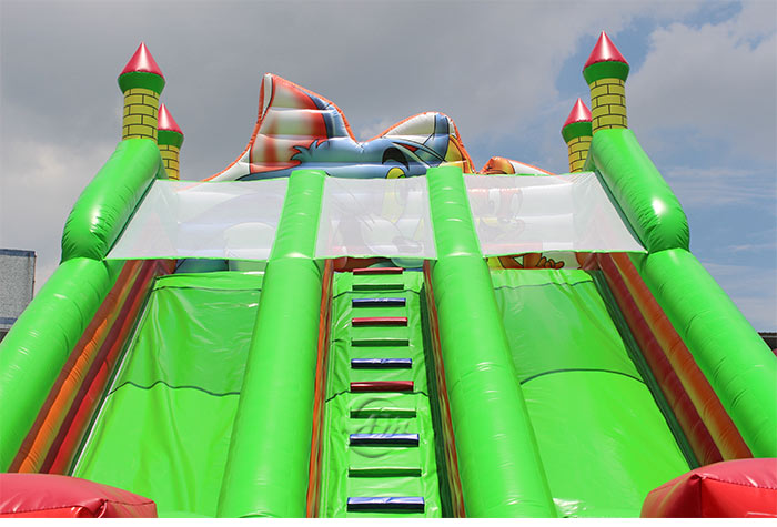 large inflatable slide for sale