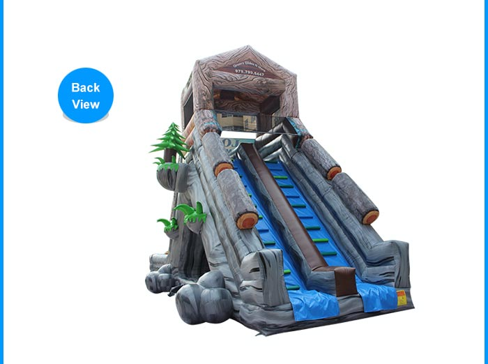 giant adult inflatable slide
