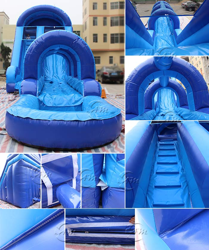 water slide party