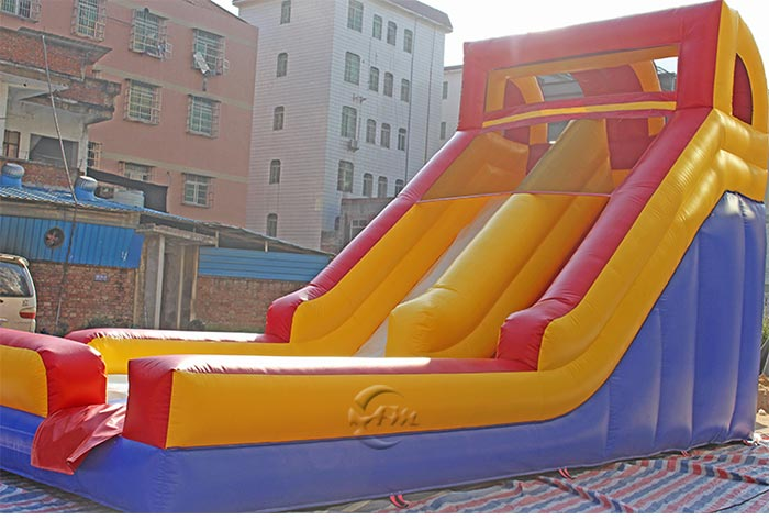 inflatable water slide for inground pool