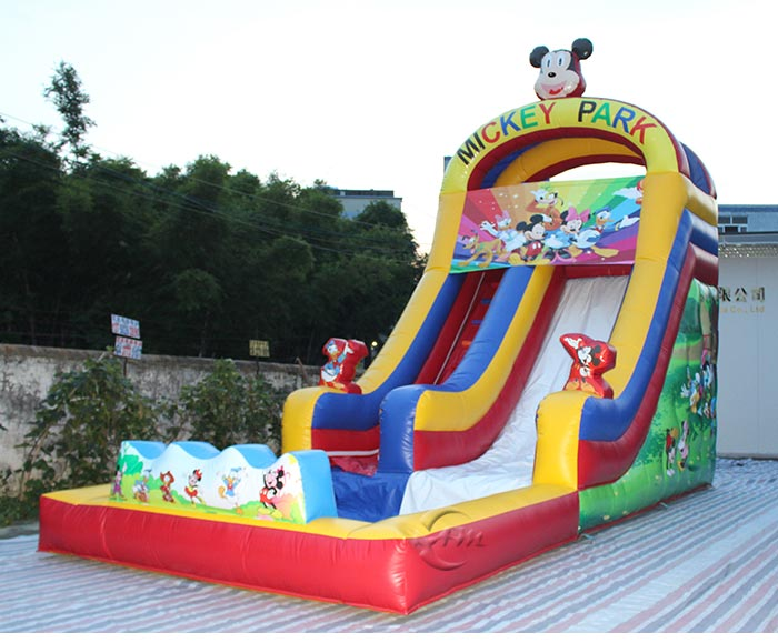 commercial inflatable water slides for adults