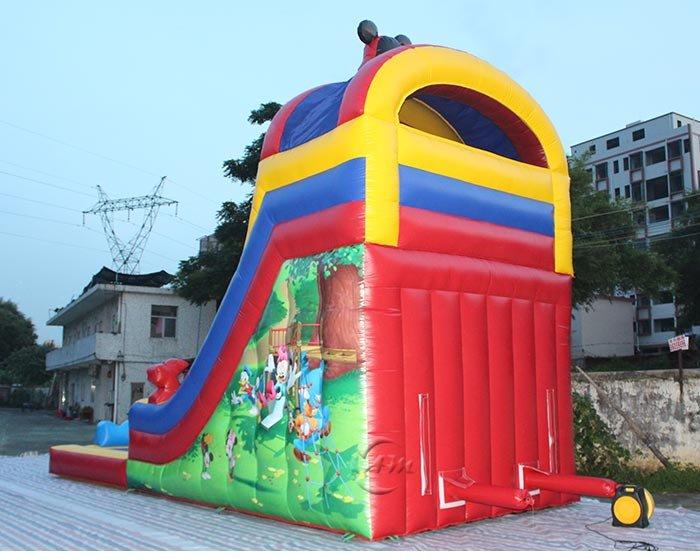 big blow up slides