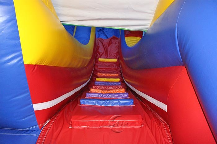 blow up pool slides for inground pools