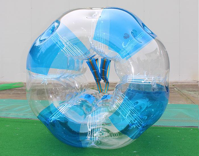 human bubble ball