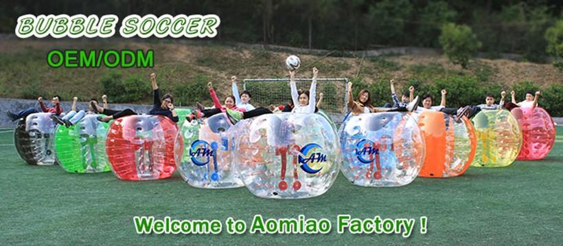 inflatable human bubble ball