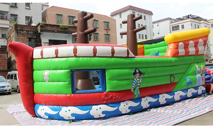 water bounce house