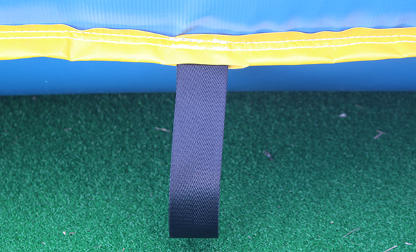 kids inflatable soccer field