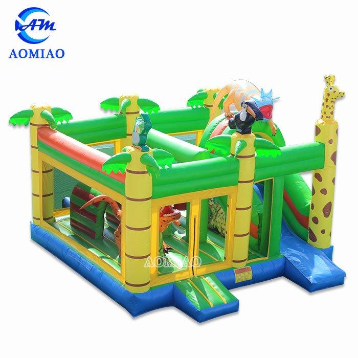 Commercial Inflatable Bouncer - Jungle BO1781
