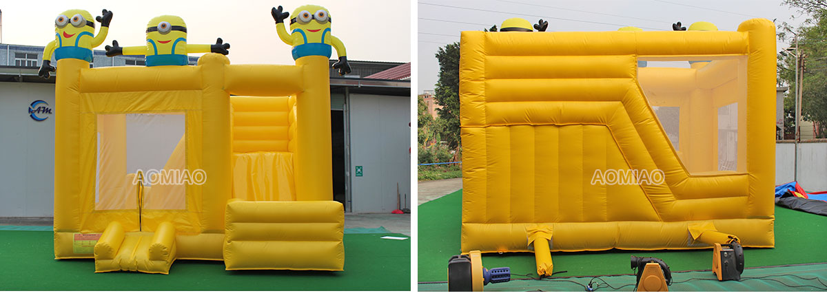 inflatable moon bounce