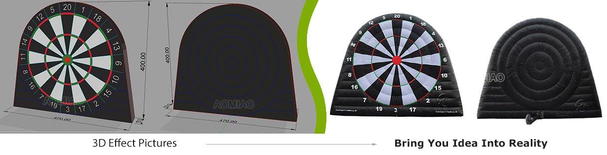 golf dart board