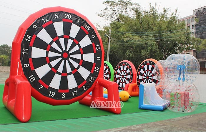Commercial dart board