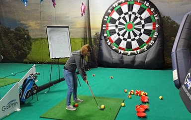 inflatable dart game/inflatable soccer darts