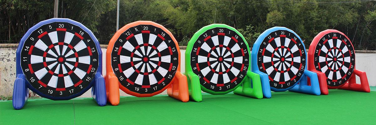 velcro soccer darts