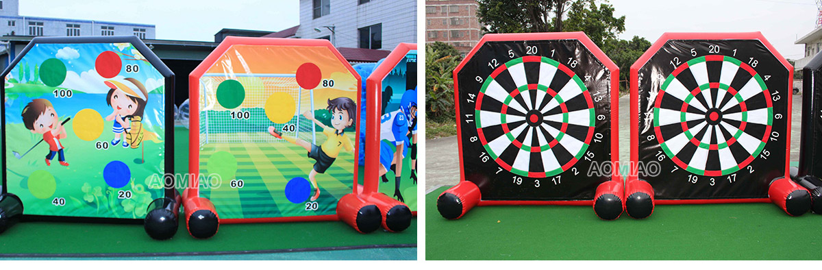 inflatable soccer darts for sale