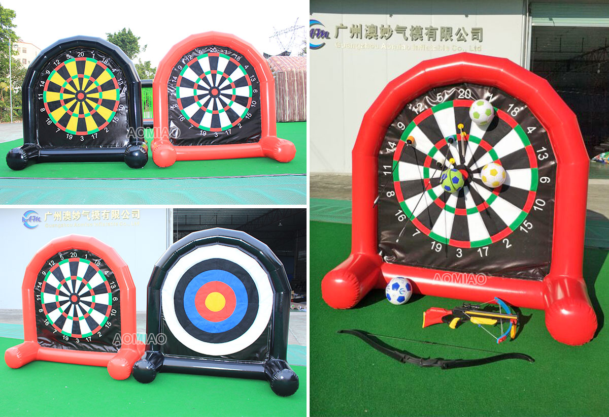 inflatable foot darts
