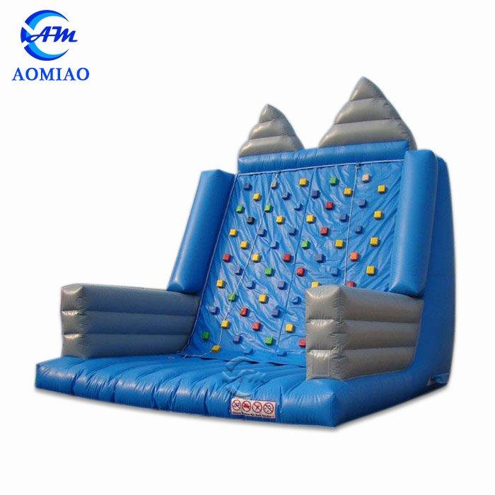 Blue Inflatable Kids Rock Climbing Wall - CL1708