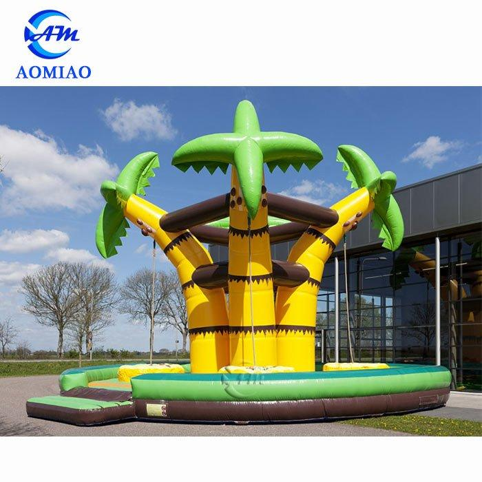 Coconut Palm Inflatable Playground Climbing Wall - CL1709