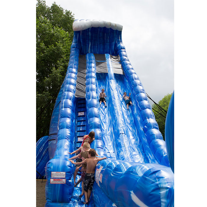 adult size inflatable water slide