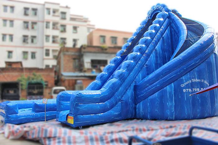 big inflatable water slides